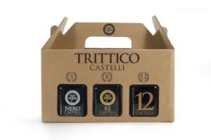 Trittico Castellli Aged Balsamic Vinegars