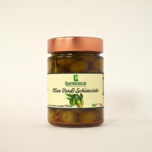 Green Gaeta Olives