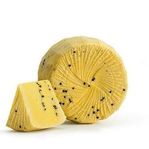 Pecorino Sheep Cheese with Saffron and Black Pepper