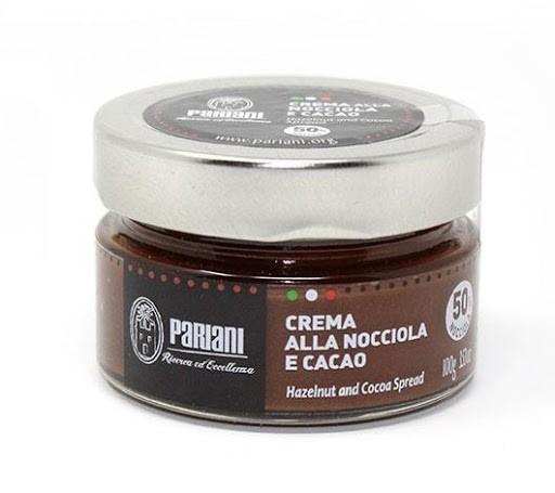 Pariani Hazelnut and Cacao Spread 100 gr 50%