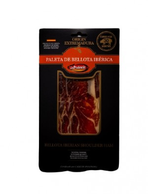 Iberian Shoulder Ham sliced
